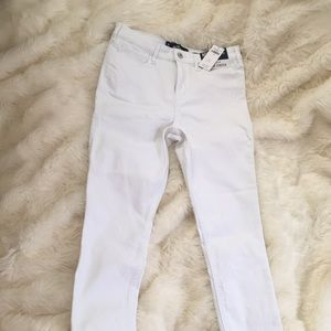 Hollister White High Waisted Jeans